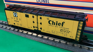 "Lionel 1926120 - Freightsounds Reefer ""Santa Fe"" #3526 (2 sided)"