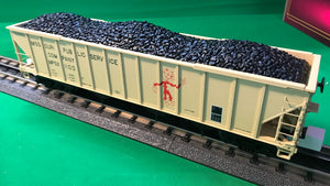 "MTH 20-97902 - 4-Bay Hopper Car ""Missouri Public Service"" w/ Coal Load"