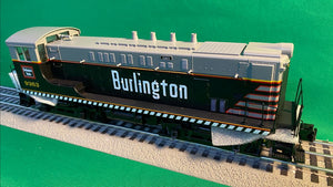 "MTH 20-21219-1 - VO 1000 Diesel Engine ""Burlington"" #9363 w/ PS3"