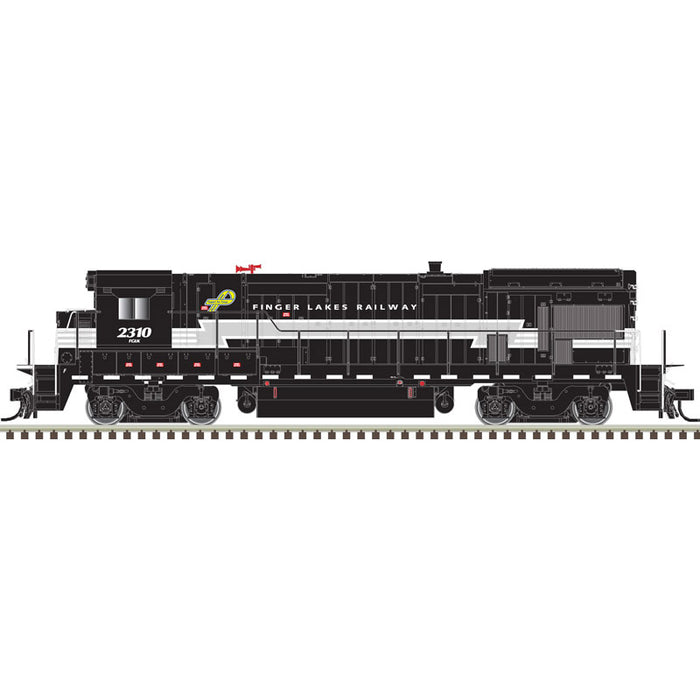 Atlas HO 10003645- HO B23-7 Locomotive - Finger Lakes 2310 (Black/Gray/White)