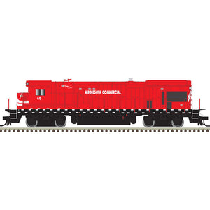 Atlas HO 10003646- HO B23-7 Locomotive - Minnesota Commercial 43 (Red/White)