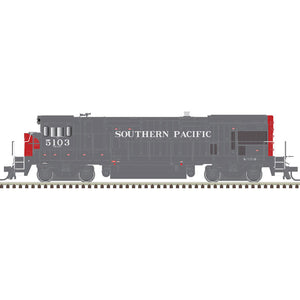 Atlas HO 10003654- HO B23-7 Locomotive - Southern Pacific 5110 (Gray/Red)