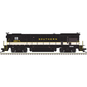 Atlas HO 10003657- HO B23-7 Locomotive - Southern 3977 (Black/White)