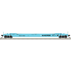 "Atlas HO 20005999 - 48' All Purpose Well Car ""MAERSK"" #110027"