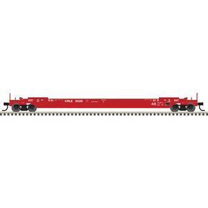 Atlas HO 20006005 - 48' All Purpose Well Car - CRLE 5073 (Red/White)