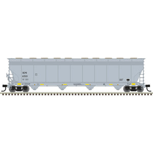 Atlas HO 20006028 -  ACF® 5800 Plastics Hopper Car - Oxyvinyls (OCPX) 62531 (Gray/Black/Yellow)