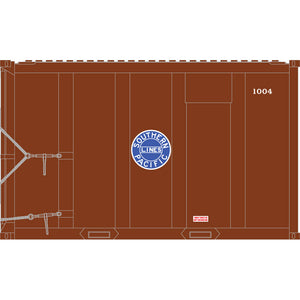 Atlas HO 20006065 - High-Cube MSW Container - Southern Pacific† 1004, 1015, 1027, 1053 (Brown/Blue) Set #1