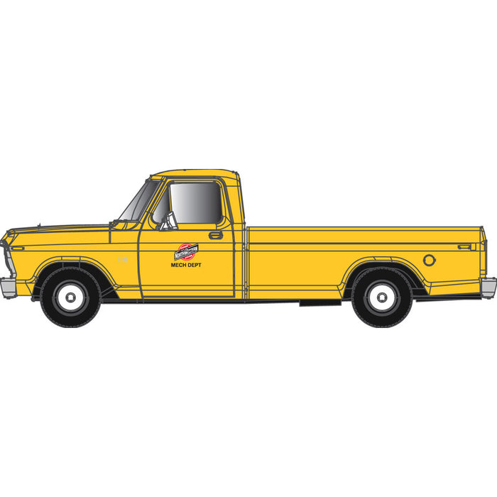 "Atlas HO 30 000 126 - Ford F-100 Pickup Truck ""Chicago & North Western"" (Yellow)"