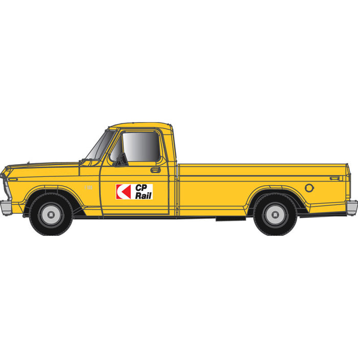 "Atlas HO 30 000 127 - Ford F-100 Pickup Truck ""Canadian Pacific"" (Yellow)"