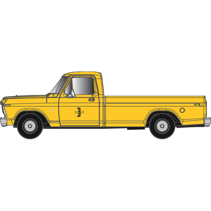 "Atlas HO 30 000 129 - Ford F-100 Pickup Truck ""Boston & Maine"" (Yellow)"