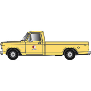 "Atlas HO 30 000 130 - Ford F-100 Pickup Truck ""Erie Lackawanna"" (Yellow)"