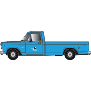 "Atlas HO 30 000 132 - Ford F-100 Pickup Truck ""Rock Island"" (Blue)"