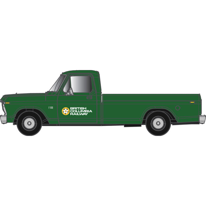 "Atlas HO 30 000 133 - Ford F-100 Pickup Truck ""British Columbia"" (Green)"