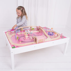 BigJigs BJT047 - Magical Train Set & Table