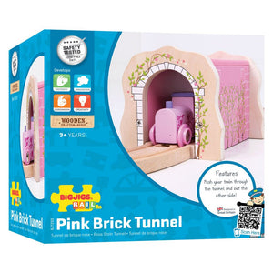 BigJigs BJT233 - Pink Brick Tunnel