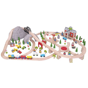 BigJigs BJT016 - Mountain Railway Set