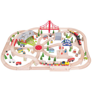 BigJigs BJT017 - Freight Train Set