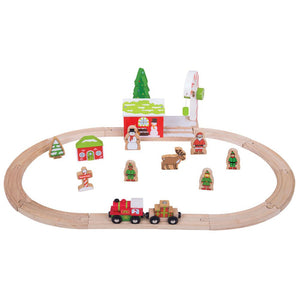 BigJigs BJT066 - Winter Wonderland Train Set