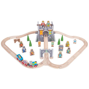 BigJigs BJT067 - Medieval Train Set