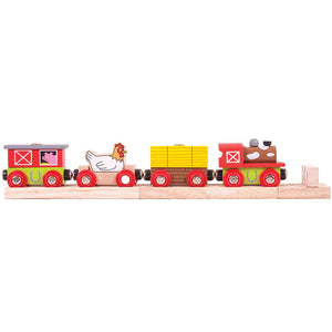 BigJigs BJT466 - Farmyard Train