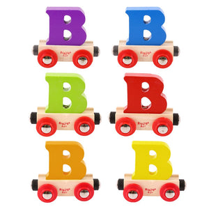 BigJigs BR102 - Rail Name Letter B (Colors Vary)