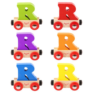BigJigs BR118 - Rail Name Letter R (Colors Vary)