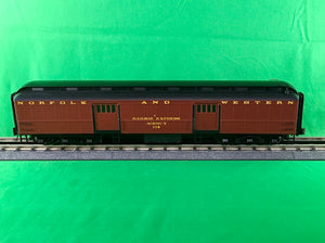 "Atlas O 2001312 - Trainman - 60' Baggage ""Norfolk & Western"" - New Numbers"