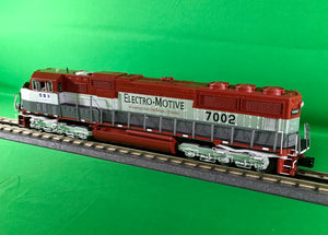 "MTH 20-21278-1 - SD70M Diesel Engine ""EMD Demonstrator"" #7002 w/ PS3 (Hi-Rail Wheels)"
