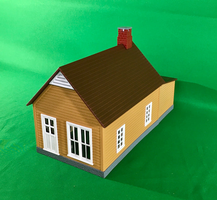 MTH 30-90008 - Workhouse #1 (Mustard & Red)