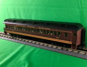 "Atlas O 2002716 - Trainman - 60' Observation Car ""Chicago Great Western"""