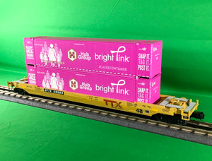 "MTH 20-95391 - Husky Stack Car ""TTX"""