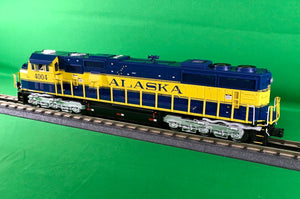 "MTH 20-21196-1 - SD70Mac Diesel Engine ""Alaska"" 4004 Spirit of Whittier w/ PS3 (Hi-Rail Wheels)"