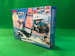 Lego 60149 - City Great Vehicles - 4x4 with Catamaran