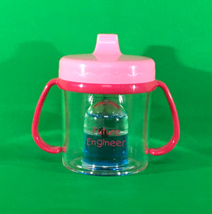 Pink Future Engineer Sippy Cup