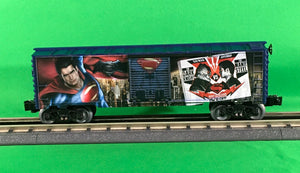 "Lionel 6-83780 - Man of Steel Box Car ""Batman vs Superman"""