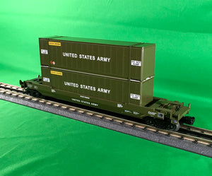 "MTH 30-76797 - Husky Stack Car ""U.S. Army"""