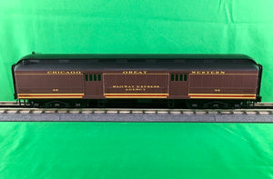 "Atlas O 2001325 - Trainman - 60' Baggage ""Chicago & Great Western"""