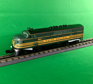 "MTH 30-20730-1 - F-3 ABA Diesel Engine Set ""Maine Central"" w/ PS3"