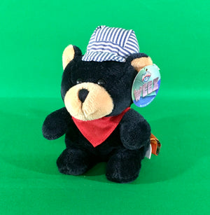 Plush - Black Bear Engineer - Small