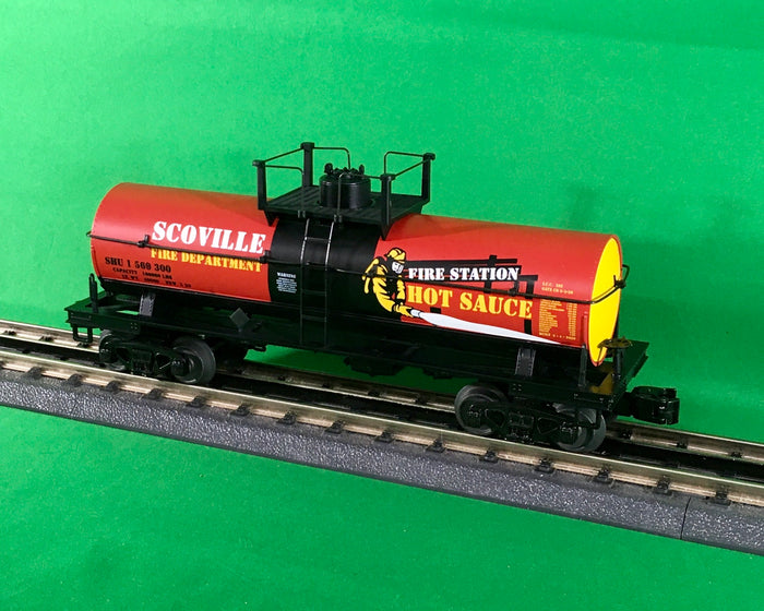 "MTH 30-73577 - Smoking Tank Car ""Fire Station Hot Sauce"""