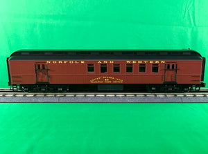 "Atlas O 2001412 - Trainman - 60' RPO Car ""Norfolk & Western"" - New Road Numbers"