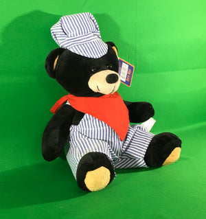 Plush - Black Engineer Bear