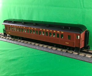 "Atlas O 2002721 - Trainman - 60' Observation Car ""Norfolk & Western"" - New Road Numbers"