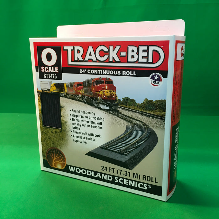 Woodland Scenics ST1476 - Track-Bed Roll (O Scale)