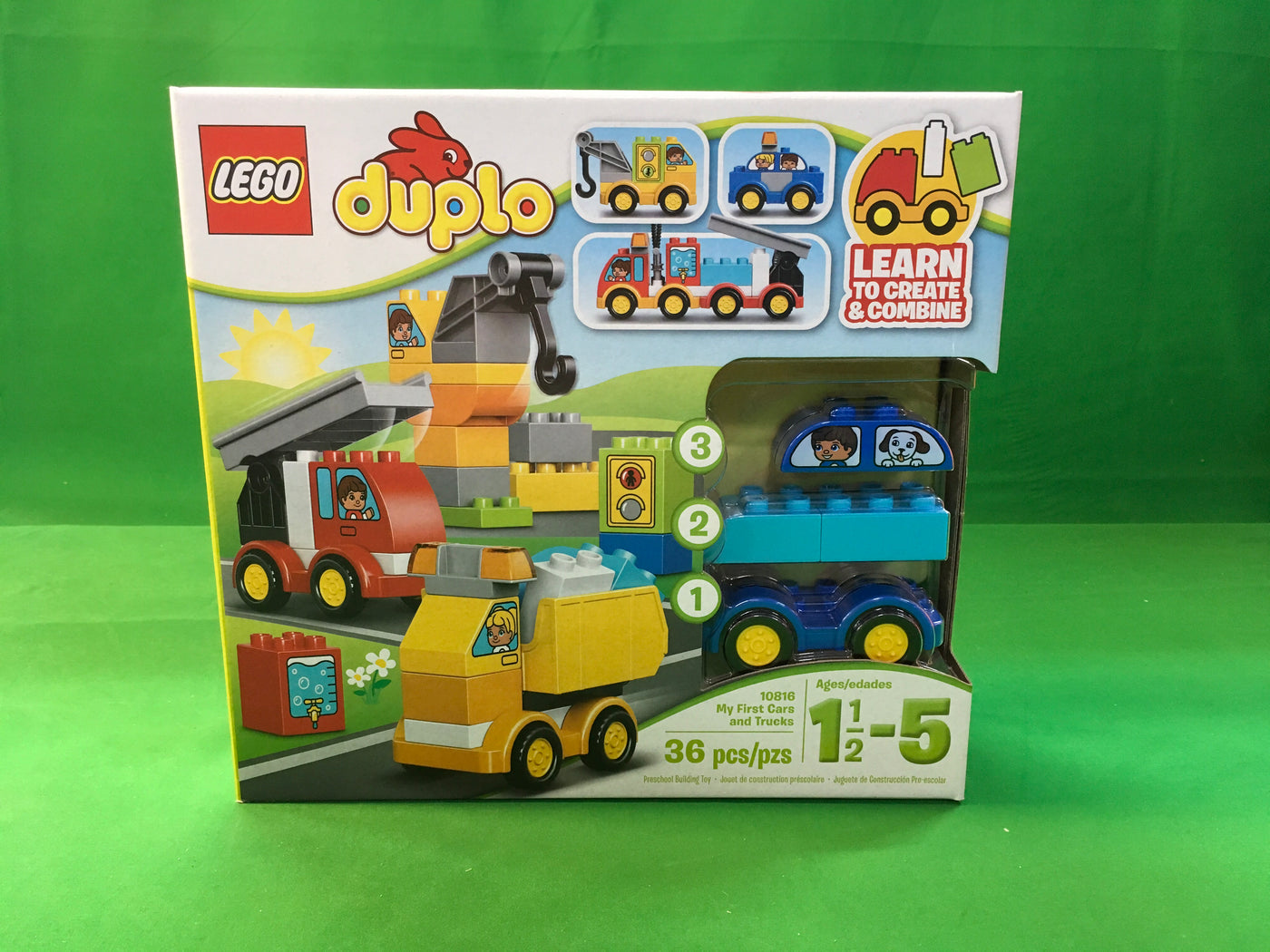 Lego 10816 - DUPLO My First - My First Cars and Trucks