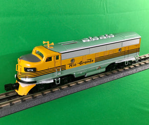 "MTH 30-20732-1 - F-3 ABA Diesel Engine Set ""Denver & Rio Grande"" w/ PS3"