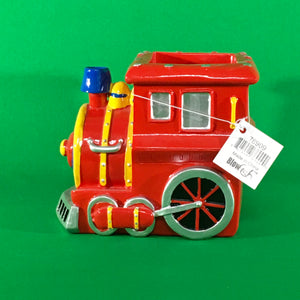 Red Train Pen & Pencil Holder