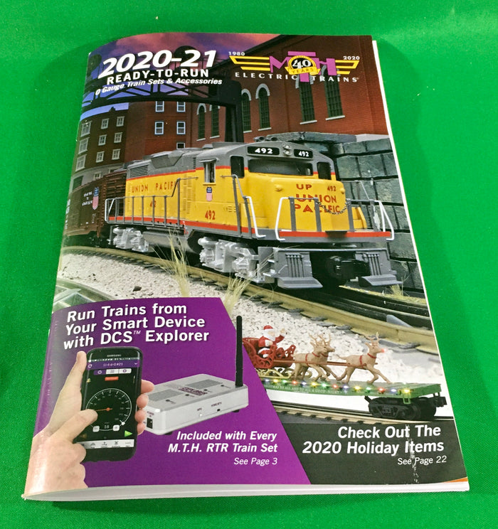 MTH - Catalog 2020-21 - MTH RailKing Ready-to-Run Train Set & Accessories
