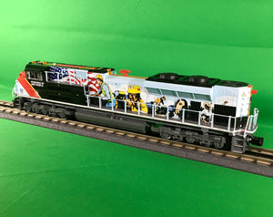 "Lionel 2033600 - Legacy SD70AH Diesel Locomotive ""Union Pacific - Powered by our People"" #1111 w/ Bluetooth"