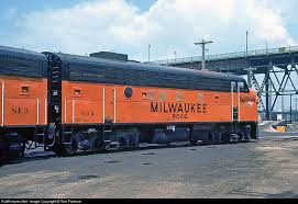 "MTH 20-21MILW-3 - F-7 B Unit Diesel Engine ""Milwaukee Road"" (Unpowered) - Custom Run for MrMuffin'sTrains"